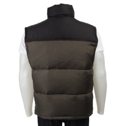 First Down Men's Zip-up Down Vest