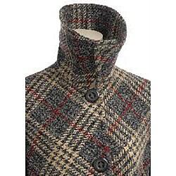 Larry Levine Women's Luxurious Tweed Coat