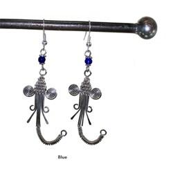 Electroplated Copper Safari Earrings (Kenya) - Thumbnail 2