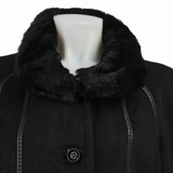 Gallery Women's Full-length Faux Fur Coat - Thumbnail 2