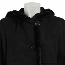 Gallery Women's Full-length Hooded Coat