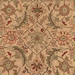 Oushak Hand-knotted Hand-spun Wool Heirloom Rug (8' x 10') - Thumbnail 2