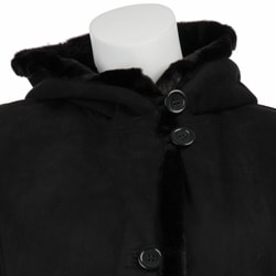 Gallery Women's Plus Size Full Length Faux Shearling Coat