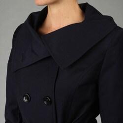 DKNY Women's Belted Rain Coat