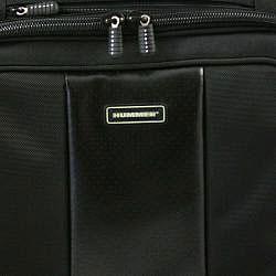 Hummer Ruggedized Black Business Portfolio Laptop Case - Thumbnail 2
