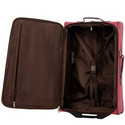 American Tourister 25-inch Magenta Upright - Thumbnail 2