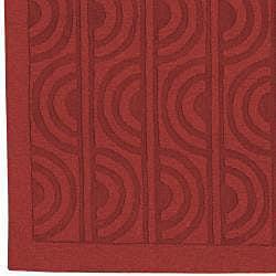 Handcrafted Marbela Wool Rug (5' x 8') - Thumbnail 2