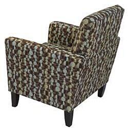 Gia Urban Arm Chair Orbit Brown Blue - Thumbnail 2