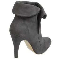 Glaze by Adi High-heel Microsuede Ankle Boots