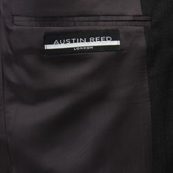 Austin Reed Men's Solid Charcoal Grey Suit