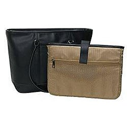 Thumbnail 3, Heritage Womens Leather Laptop Tote. Changes active main hero.