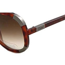 06ee37a4b2a Shop Chloe  CL 2119  Women s Round Frame Sunglasses - Free Shipping Today -  Overstock - 4469047