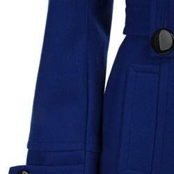 Giacca Women's Asymmetrical Short Wool Coat