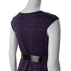DBY Ltd. Brand Women's Belted Dress - Thumbnail 2