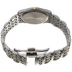 Wittnauer Men's Laureate Stainless Steel Quartz Watch - Thumbnail 2