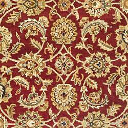 Safavieh Handmade Classic Red/ Gold Wool Rug (6' x 9') - Thumbnail 2
