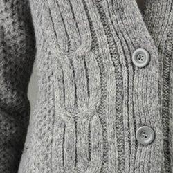 Carducci Women's Fisherman Knit Cardigan - Thumbnail 2