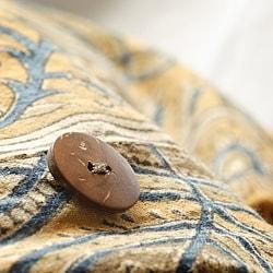 Cotton Kalamkari Olive 3-piece Duvet Cover Set (India) - Thumbnail 2