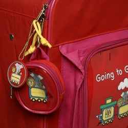 Children's 'Going to Grandma's' Wheeled Upright Luggage - Thumbnail 2