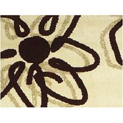 Admire Home Living Virginia Flora Rug (7'9 x 11')