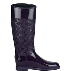 Womens Purple Rain Boots - Cr Boot