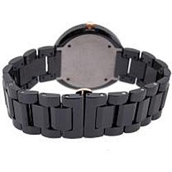 Le Chateau Men's 'La Serenada' Black Ceramic Watch - Thumbnail 2