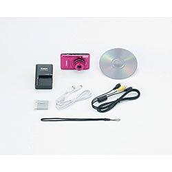 Canon PowerShot SD1400IS 14.1MP Pink Digital Camera