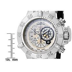 Invicta Men's 'Subaqua' Cream Dial Chronograph Watch