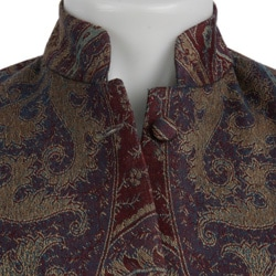 Women's Plum Maharani Long Sleeve Silk Jacket (India) - Thumbnail 2