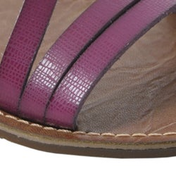 Bamboo by Journee Women's Strappy Flat Sandals - Thumbnail 2
