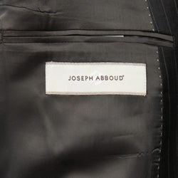 Joseph Abboud Men's Charcoal Stripe 2-button Wool Suit