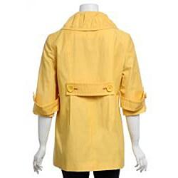 Larry Levine Women's Petite Spring Jacket - Thumbnail 2
