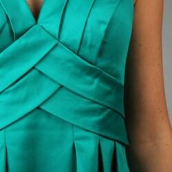 Calvin Klein Women's Shutter Pleat Dress - Thumbnail 2
