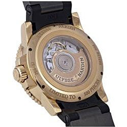Ulysse Nardin Men's Black Surf Limited Edition Watch - Thumbnail 2