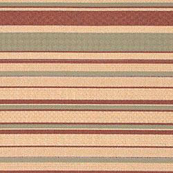 Cafe Beige Stripe Indoor/Outdoor Rug (7'6 x 10'9) - Thumbnail 2