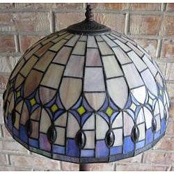 Shop Tiffany Style 16 5 Inch Diamond Drop Floor Lamp