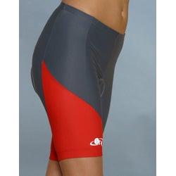 ETA Women's Cycling Shorts - Red - Thumbnail 2