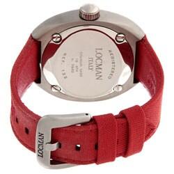 Locman Men's Mare Collection Titanium Red Watch - Thumbnail 2