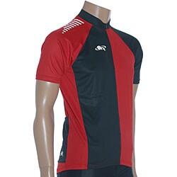 ETA Men's Short-sleeve Black/ White Cycling Jersey - Thumbnail 2