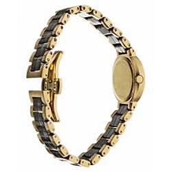 Wittnauer Women's Ceramic Yellow Goldtone Diamond Watch