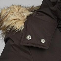 MICHAEL Michael Kors Women's 3/4 Faux Fur Polyfill Jacket - Thumbnail 2
