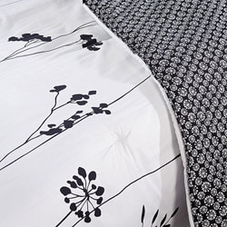 Perry Ellis Asian Lilly 7-piece Bed in a Bag with Sheet Set - Thumbnail 2