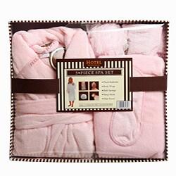 Hotel Pink 5-piece Boxed Spa Set - Thumbnail 2