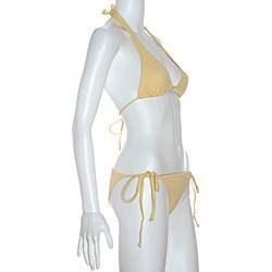 Cot'n by Lucenti Swimwear Women's Gemada String Bikini - Thumbnail 2