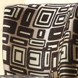 Moda Black/ Grey Print Round Swivel Chair - Thumbnail 2
