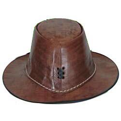 Leather Safari Hat (Morocco)