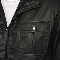 Buffalo david bitton faux leather jacket