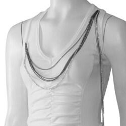 XOXO Juniors Chain Detail Knit Tank Top
