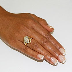 Unending Love 14k Gold Vermeil 1/2ct TDW Diamond Fashion Ring (K-L, I1-I2)