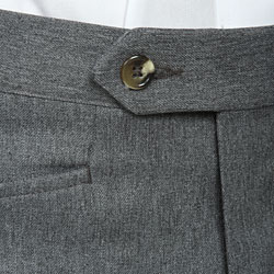 Sansabelt men's Grey Gabardine Twill Trousers - Thumbnail 2